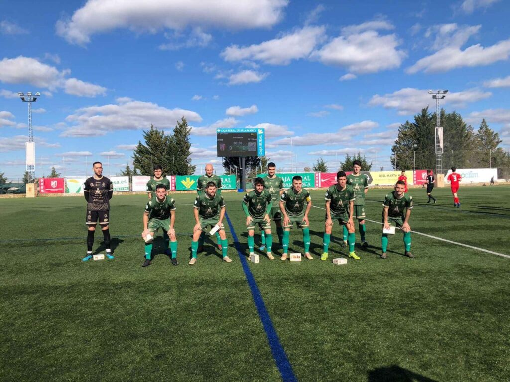 Alineación del Atlético Astorga
